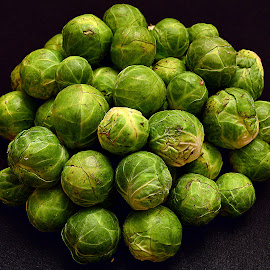 Brussel Sprouts by Andrew Piekut - Food & Drink Fruits & Vegetables