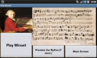 Screenshot of Play Mozart