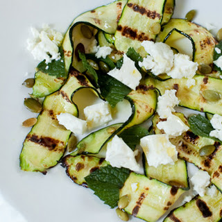 Zucchini Feta And Mint Recipes