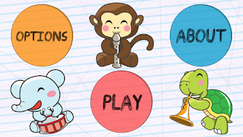 Screenshot of Kids Connect Dots Animals Free