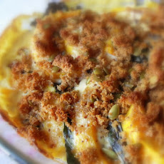 Pumpkin and Chard Gratin