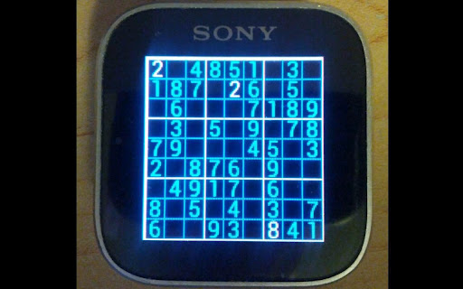 Number Place for SmartWatch