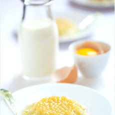 Cardamom and Vanilla-flavored Tapioca Pudding