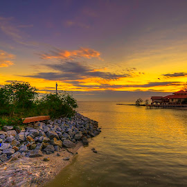 sunset... by Ziz Abd Aziz - Landscapes Sunsets & Sunrises (  )