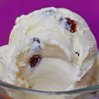 Homemade Rum Raisin Ice Cream