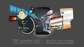 Screenshot of TSF Launcher 3D Shell