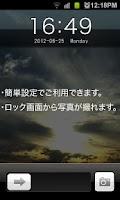 Screenshot of iPhone style GO locker theme3