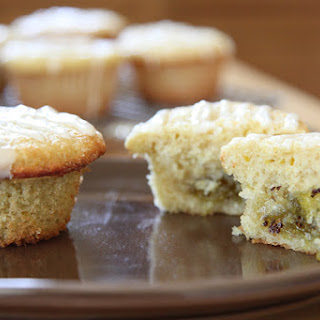 Magical Kiwi-Lime Marmalade filled Muffins