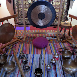 Yoga time by Gil Reis - Artistic Objects Musical Instruments ( nature, zen, places, portugal, people, yoga )