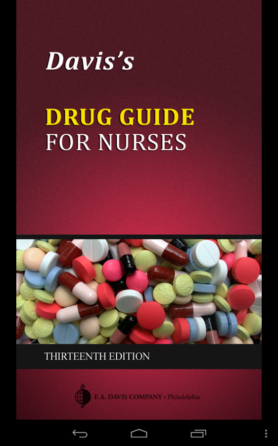 Davis's Drug Guide for Nurses Screenshot 8