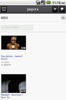Screenshot of Jaspora
