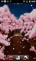 Screenshot of Sakura's Bridge Live Wallpaper