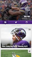 Screenshot of Minnesota Vikings Mobile