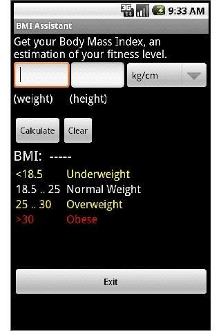 BMI Assistant
