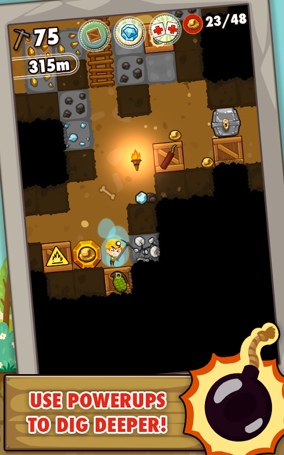 Pocket Mine Screenshot 1