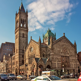 Old South Church, Boston, Massachusetts by Cary Chu - Buildings & Architecture Places of Worship