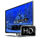 3D Christmas Cottage icon