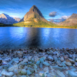 Swifcurrent Lake, Montana by Walt Landi - Landscapes Waterscapes ( waterscape, montana, lake, long exposure, glacier national park )