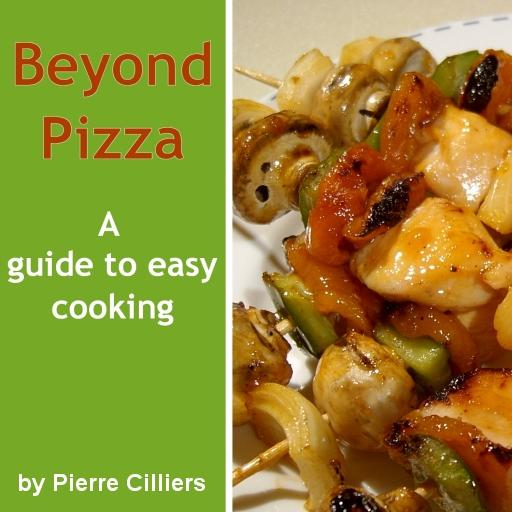 Beyond Pizza Cookbook LOGO-APP點子