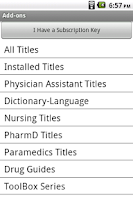 Screenshot of Medical Wizards Library