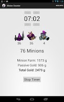 Screenshot of League of Legends MInionCount
