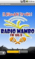 Screenshot of Radio Mambo