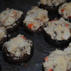 Crab Stuffed Mushrooms II