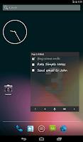Screenshot of Simple Notes Widget