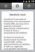 Screenshot of Guardroid
