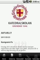 Screenshot of Katedralskolan