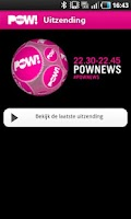 Screenshot of PowNews App