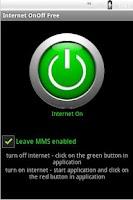 Screenshot of Internet OnOff Free