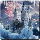 Winter Fantasy Live Wallpaper icon