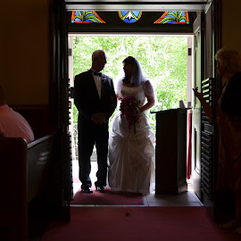 Wedding - Father and the bride by Gaynel . - Wedding Groups