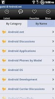 Screenshot of Android Forum