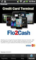 Screenshot of Flo2Cash Payment Terminal