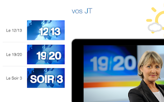 Screenshot of France 3 Régions