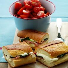 Mozzarella and Ham Panini