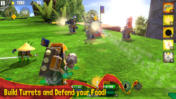 Screenshot of Bug Heroes 2