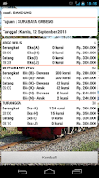 Screenshot of Info Tiket Kereta Api