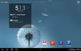 Screenshot of Better DashClock Key
