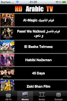 Screenshot of Arabic HD TV