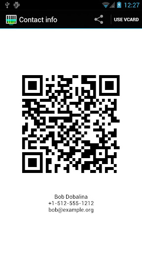 Barcode Scanner+ (Plus) - screenshot