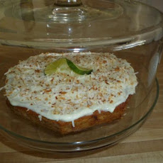 Banana, Lime and Coconut Cake (Australia)