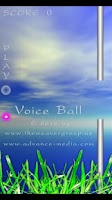 Screenshot of Voice Ball Lite