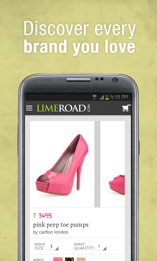 LimeRoad - Online Shopping Screenshot 0
