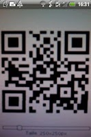 Screenshot of QR Code Scanner