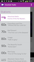 Screenshot of Absolute Classic Rock