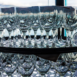 Glasses by Cory Bohnenkamp - Artistic Objects Cups, Plates & Utensils ( water, trays, glasses, service, glass )