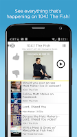 Screenshot of 104.1 The Fish-FM